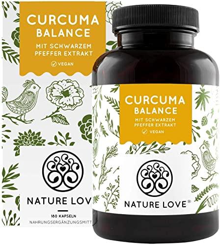 Nature Love Kurkuma Balance Kapseln Bild