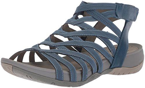 BareTraps Women's Sammie Sandal, Denim, 9.5 Medium US