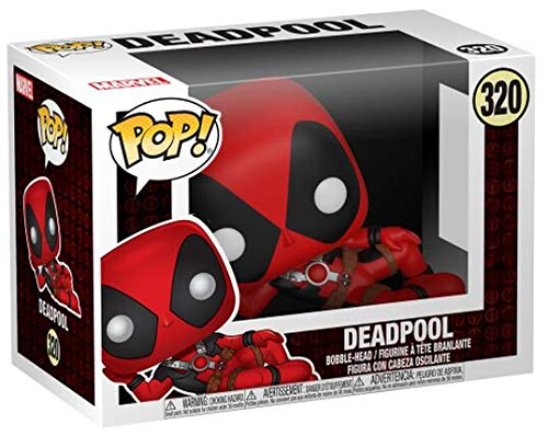 Funko Pop Deadpool tumbado (Deadpool 320) Funko Pop Deadpool