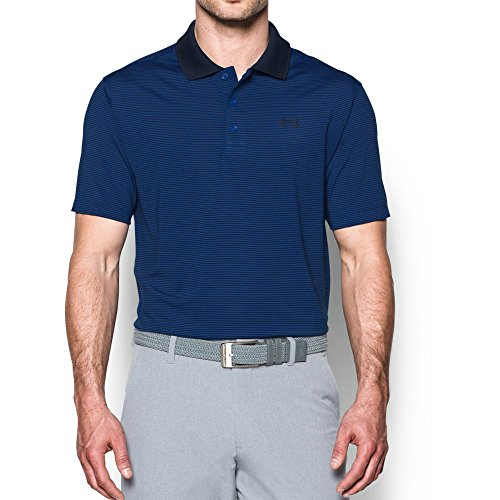 Under Armour Men's Release Polo, Blue Marker (789)/Academy, Large