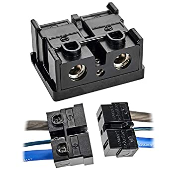 NVX XQDC4 4 AWG High Current Power and Ground Quick Disconnect with Surface Mounts