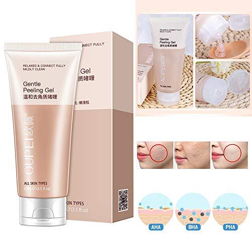 Lz Akne-Poren-Minimierer-Peeling, Gesichtspeeling-Gel Sanftes Peeling-Gel Reinigungsporen Peeling-Gesichtsreiniger-Kosmetik
