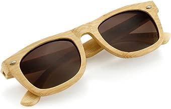 Polarized Bamboo lightweight Wood Vintage Sunglasses Men Women Eyewear