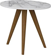 Mod Retro Mesa Circular1005 Be Life Branco/Carrara