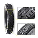 SUIBIAN Electric Scooter Tire Adult, 14 Inch 14x2.125 Solid Tire, Explosion-proof, Wear-resistant