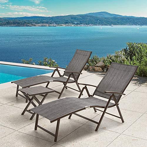 Crestlive Products Aluminum Beach Yard Pool...