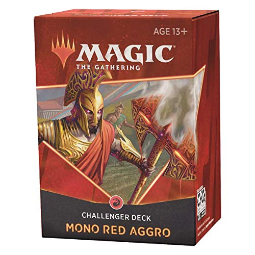 Magic the Gathering TCG MTG Challenger Deck 2021 EN, Mono Red Aggro