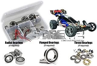 RC Screwz Rubber Shielded Bearing Kit for Traxxas Bandit VXL TSM Ed. #tra064r