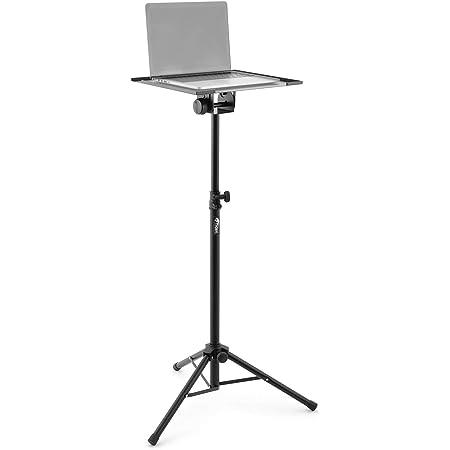Tiger Music Lec7 Bk Laptop Und Projektorständer Schwarz Musikinstrumente