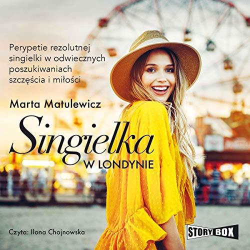 Singielka w Londynie audiobook cover art