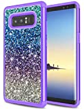 Galaxy Note 8 Case, Note 8 Case for Girls, Jeylly Gradient