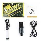 LSWLas BM 800 micrófono for PC Gaming Youtube Estudio de grabación USB micrófono de Condensador de Kits con el Soporte Microfono (Color : Kits 1)