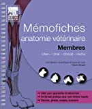 Mémofiches anatomie vétérinaire - Membres (Hors collection)