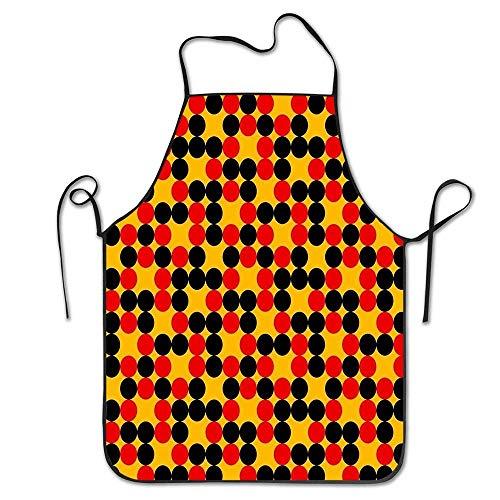 N\A Delantales I'm EMO But in A Gerard Way Overhand Materia Delantal para cocinar Jardinería Impermeable Babero BBQ Unisex Duradero Creativo Estándar Uniforme Tamaño Delantal