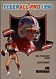 1990 Fleer All-Pros Football Card #1 Joe...