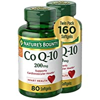 2-Pack Nature's Bounty CoQ10 Dietary Supplement 200mg