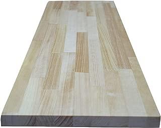 パイン集成材 【4色×150サイズから選べる】 20×500×1230mm クリア色 カット対応 DIY 棚 テーブル 木材 板 BRIWAX ブライワックス