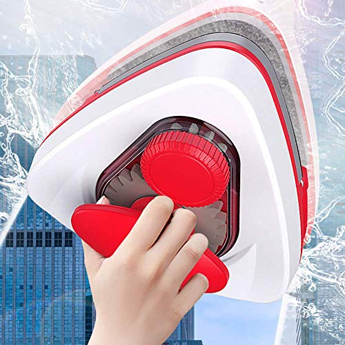 LZH FILTER Double Face Nettoyant Magnétique pour Vitres, Double Face Magnétique Réglable Nettoyant pour Essuie-Glace, Verre À Vitre Brosse De Nettoyage, pour Simple/Double Fenêtres Vitrées