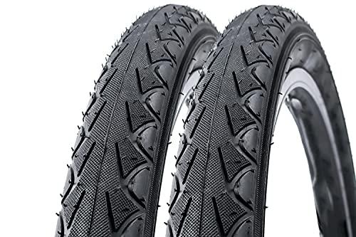 2 Stück 18 Zoll DSI 47-355 Kinder Fahrrad Reifen 18x1.75 schwarz Bike tire