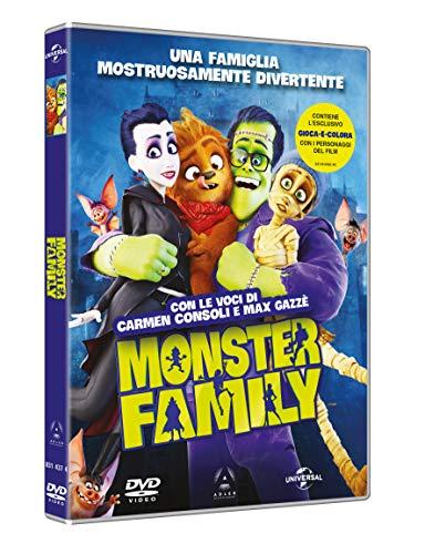 ANIMAZIONE - MONSTER FAMILY (1 DVD)