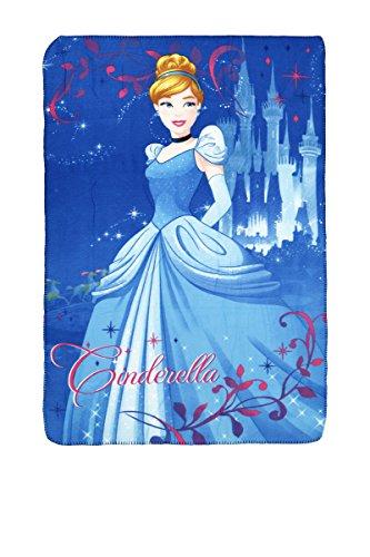 Party Factory Disney Princess Kuscheldecke Fleecedecke Cinderella 100x150cm