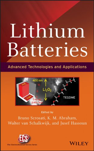 Lithium Batteries: Advanced Technologies and Applications (The ECS Series of Texts and Monographs Book 58) (English Edition)