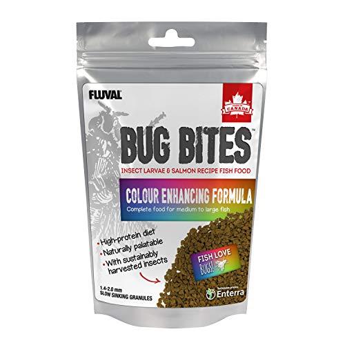 Fluval Bug Bites Colour Enhancing Fish Food, 125 g