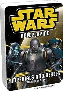 Fantasy Flight Games FFG Star Wars RPG: Imperials and Rebels 3 Adversary Pack