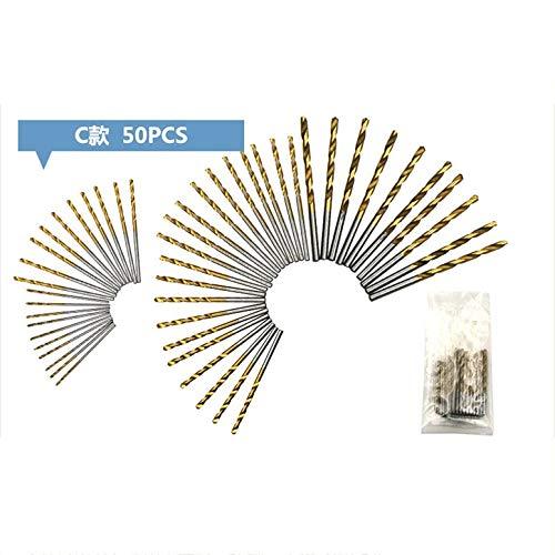 HSS Steel Cobalt ni Spiralbohrer-Set mit geradem Schaftlochöffner Kraftbohrwerkzeuge für Heimwerker-Holzarbeiten