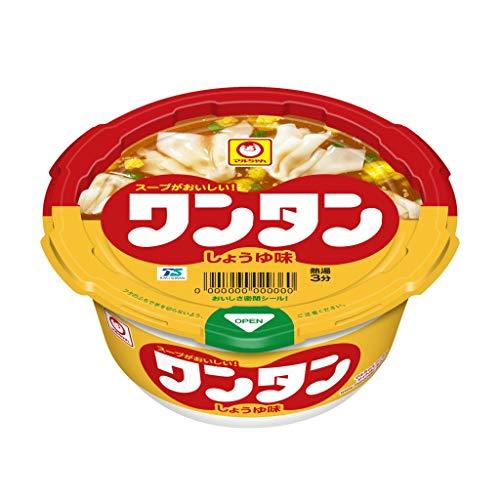 東洋水産 マルちゃん ワンタン しょうゆ味 カップ 32g×12