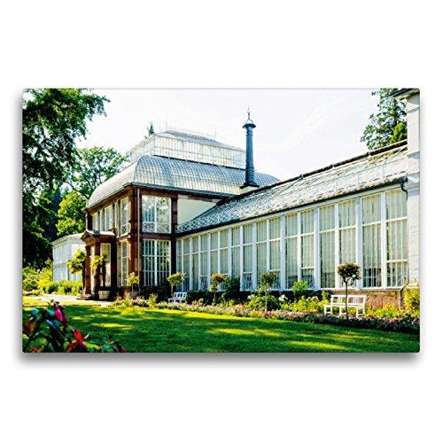 Premium Textil-Leinwand 75 x 50 cm Quer-Format Großes Gewächshaus   Wandbild, HD-Bild auf Keilrahmen, Fertigbild auf hochwertigem Vlies, Leinwanddruck von Markus W. Lambrecht