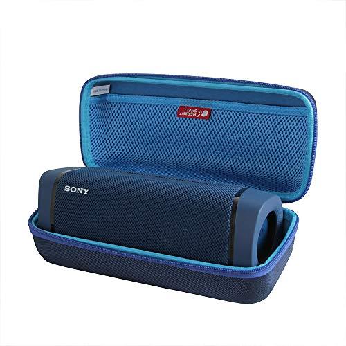Hermitshell - Funda rígida para altavoz Bluetooth inalámbrico Sony SRS-XB33, color azul