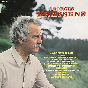 Georges Brassens N°13