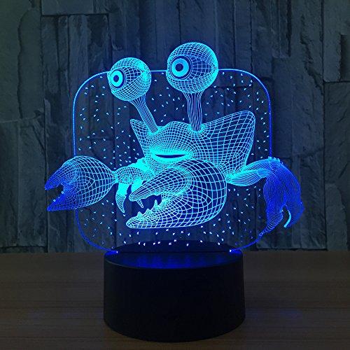 3D Lampe,Neuheit 3D Lampe Luminaria Led Kinder Wireless Powerbank 3D Led Ustable Lampen Kinderzimmer Led Nachtlicht