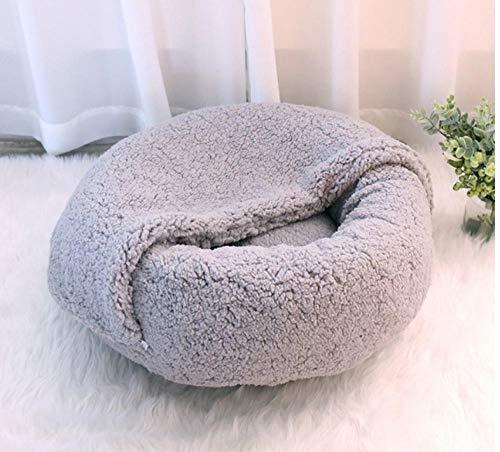 Kennelround Kasjmier Pet Bed Nest Deken Zachte en comfortabele slaapzak voor honden en katten Winter Warm Puppies Kitten Kussen Mat Nest Nest Nest Nest