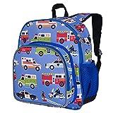 Wildkin 12 Inch Kids Backpack for Toddlers, Boys & Girls, 600 Denier Polyester Backpack for Kids, Ideal Size for School & Travel Backpacks, Mom's Choice Award Winner, BPA-free (Heroes)