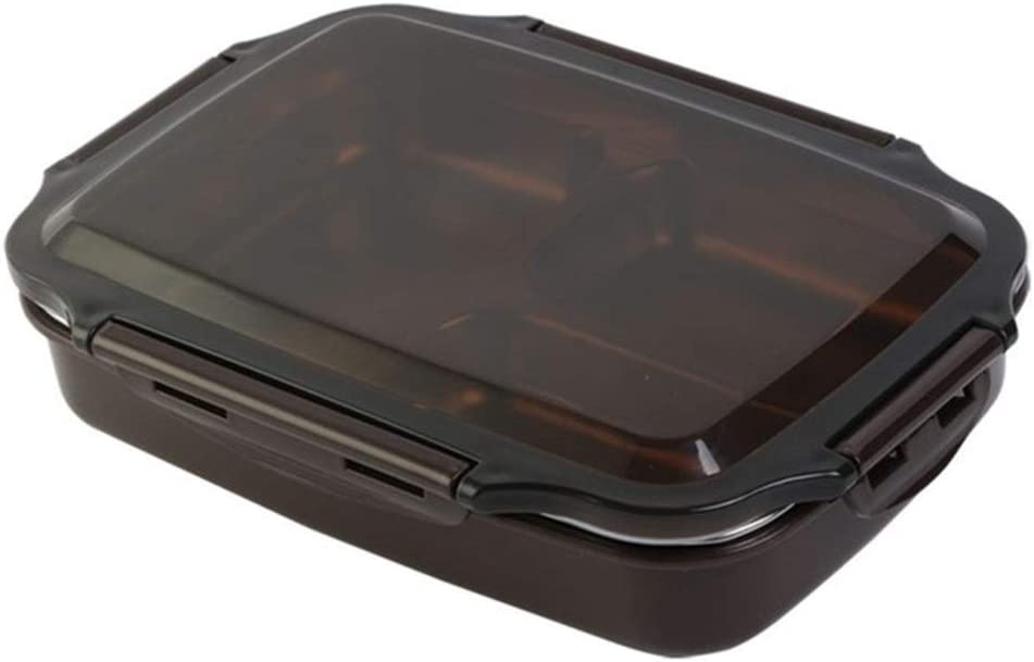 GUI Fiambreras Bento Oficinas Comedor Acero Inoxidable Caja de Almuerzo de Agua en ebullición climatizada School Food Container Bento Box Kids Meal Prep for microondas