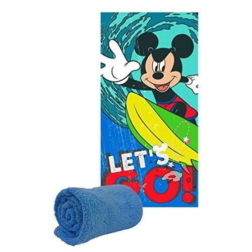 Serviette de plage ou drap de bain Mickey