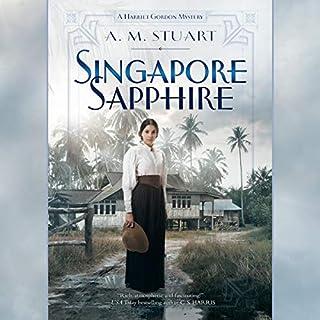 Singapore Sapphire audiobook cover art