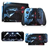 giZmoZ n gadgetZ Vader Skin Decal Vinyl Sticker Compatible with Nintendo Switch Console + 1 Controller Skins Set
