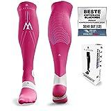 BLACKROX Chaussettes de compression sport Astropreform - Chaussettes de compression - Pour homme et femme, rose bonbon, S/M