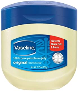 Vaseline 100% Pure Petroleum Jelly Skin Protectant 3.75 oz (Pack of 7)