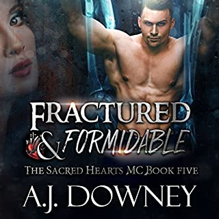 Fractured & Formidable audiobook cover art