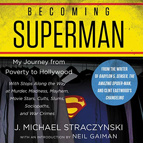 Becoming Superman audiobook cover art