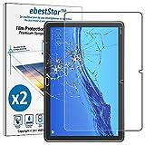 ebestStar - Pack x2 Verre trempé Compatible avec Huawei MediaPad T5 10.1 Film Protection Ecran...