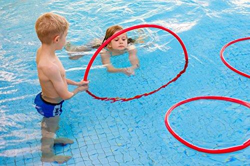 Sport-Thieme Schwimm- und Tauchreifen | Schwimmspielzeug für Kinder | Tauchring für Pool & Schwimmbad | Wasserspielzeug | Markenqualität