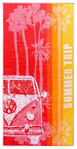 Lashuma Telo mare Summer Trip, grande asciugamano da bagno, 75 x 150 cm, colore:...