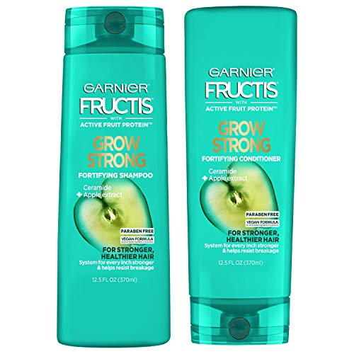 Garnier Hair Care Fructis Shampoo & Conditioner Kit, Grow Strong