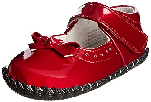 pediped Originals Isabella Mary Jane (Infant),Red Patent,Medium (12-18 Months)