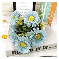 造花 1ピースシルク椿造花太陽の花 (Color : 4)